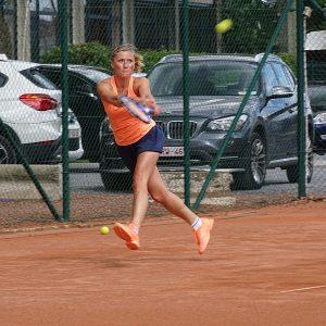 Sandrine en finale Dames